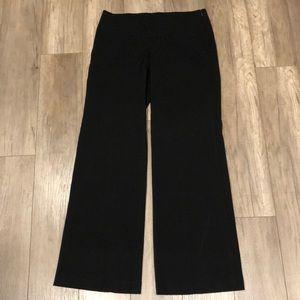 CR Signature Black Straight leg Work Dress Pant